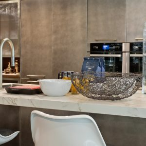 Dekton Entzo modern kitchen worktops