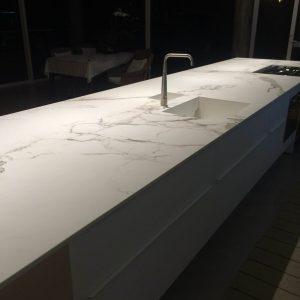 Dekton Aura 15 kitchen worktops