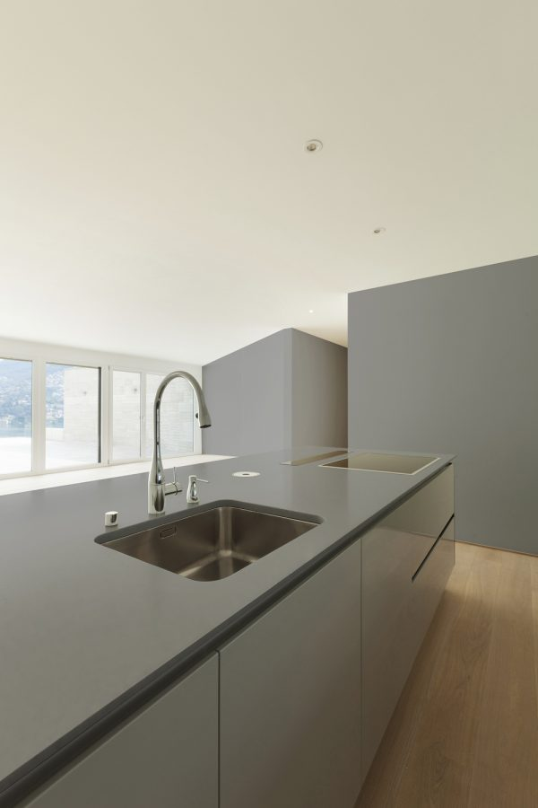 Dekton Korus minimalist kitchen worktop