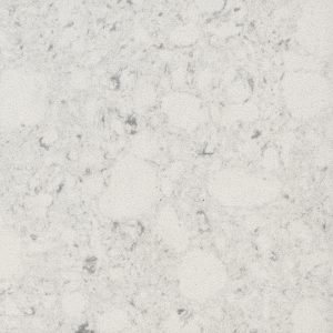 Grey Kitchen Worktop Silestone Bianco Rivers Details
