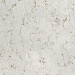 Off-white Quartz Worktop Silestone Lusso Detail