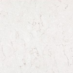 white quartz surface silestone Snowy Ibiza detail