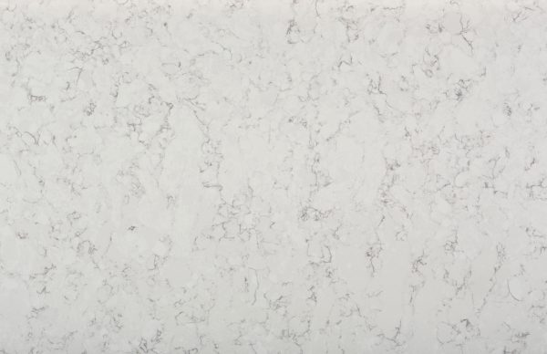 polished veined worktop Silestone Blanco Orion Detail view