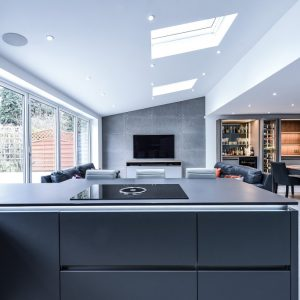 Dekton Domoos kitchen worktops