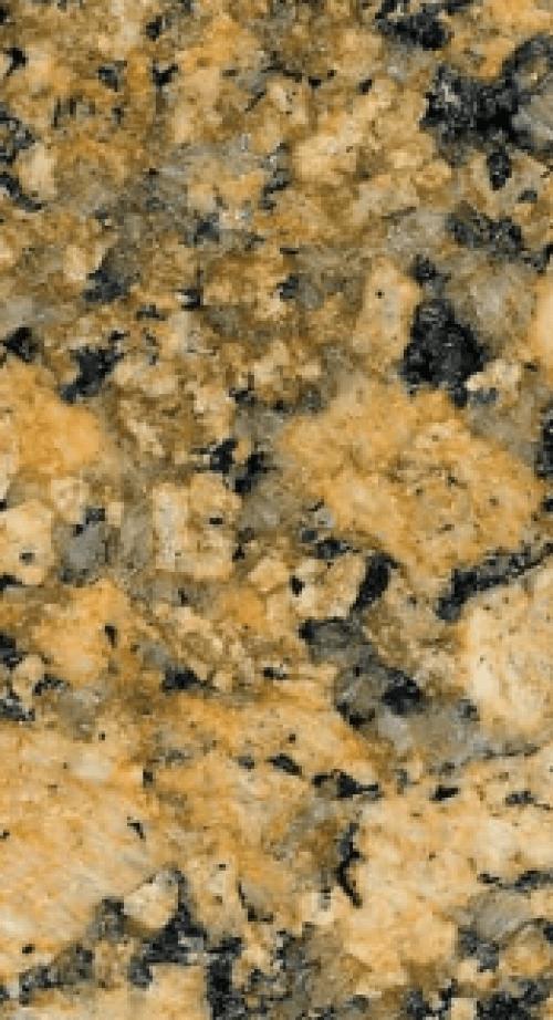 Giallo Fiorito granite worktop