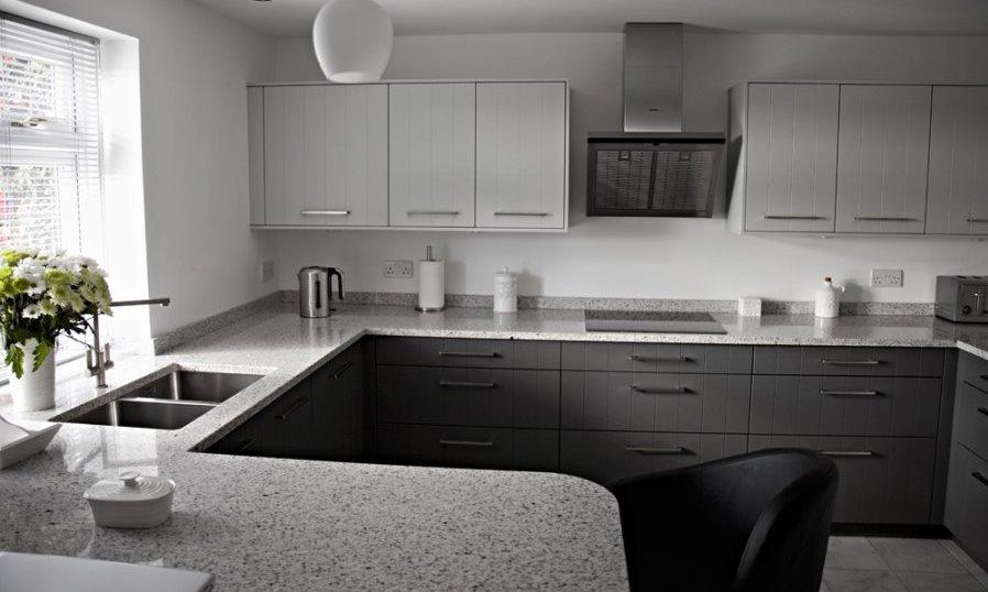 grey granite worktop