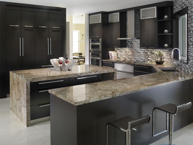 modern-kitchen-with-granite-countertop