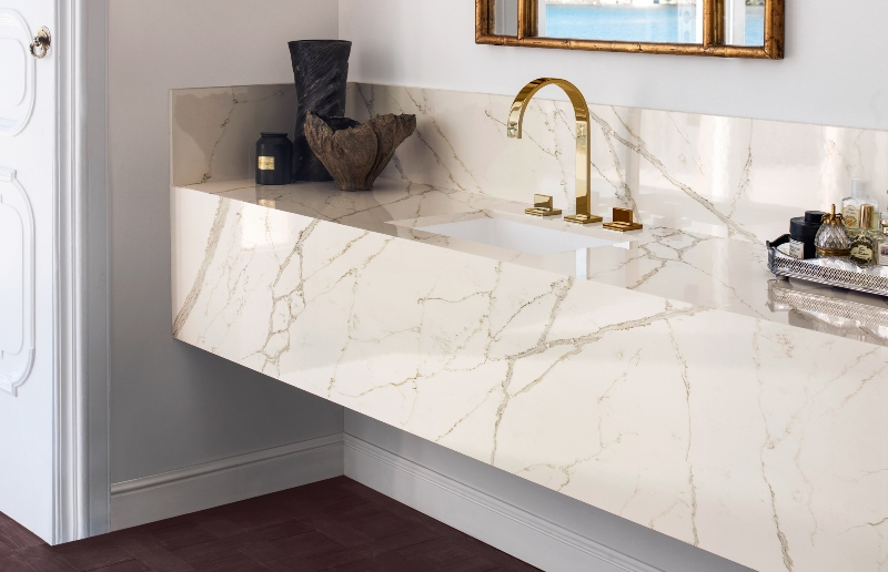 Quartz for Bathroom Design