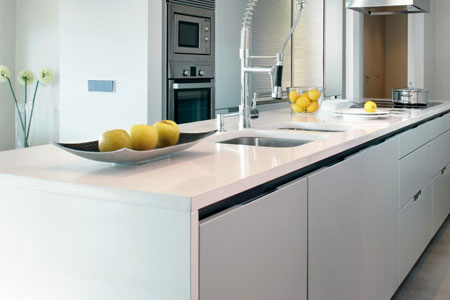sleek silestone quartz worktops