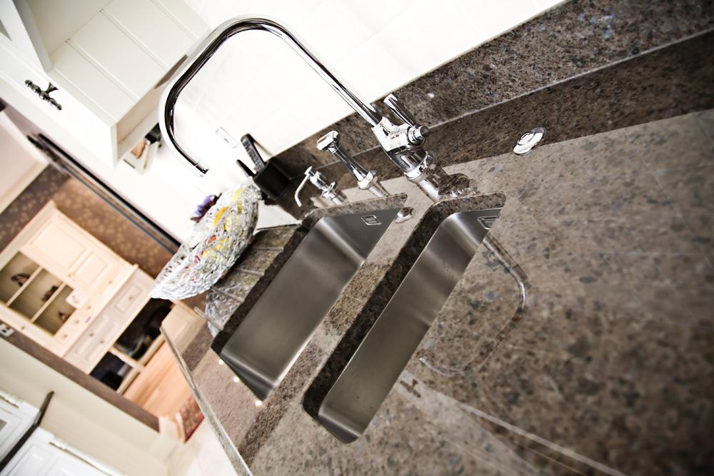 Bespoke kitchen granite worktops