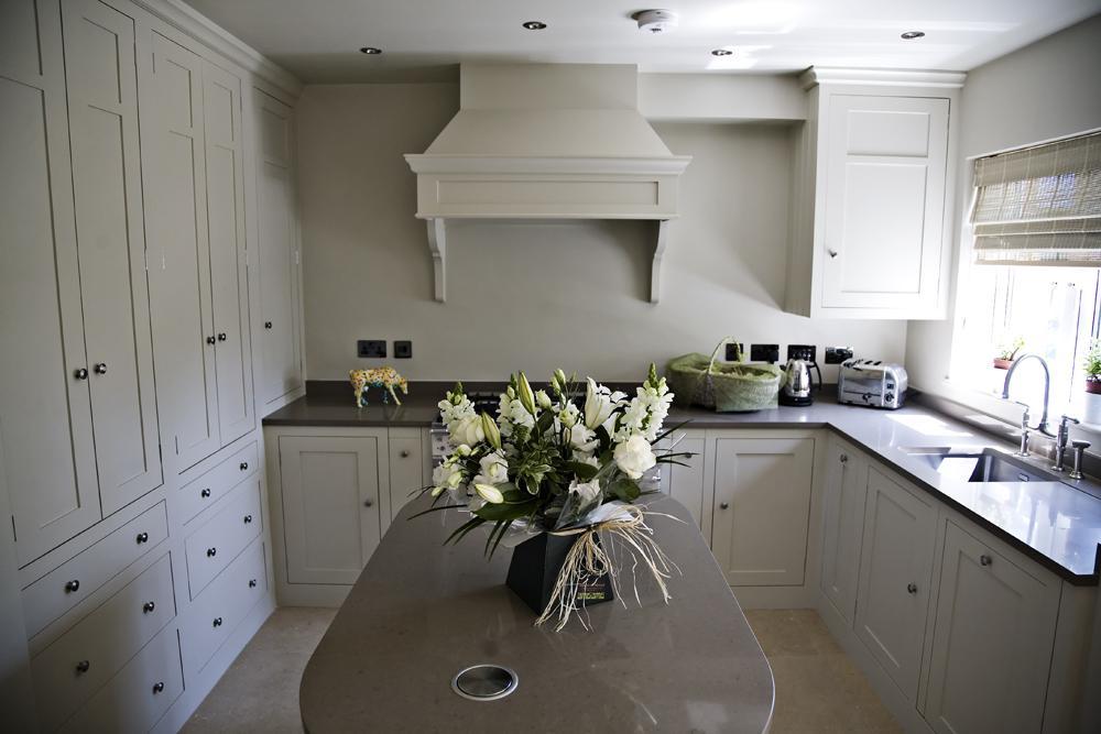 Stylish marble kitchen fittings