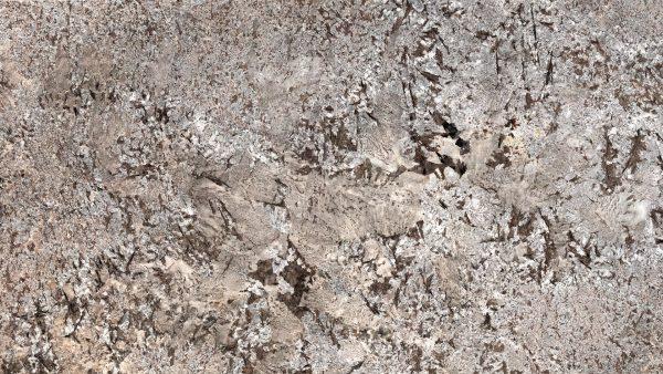 grey granite worktop sensa glacial blue detail