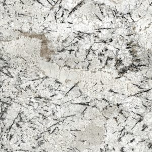 cream granite worktop sensa ice blue detail