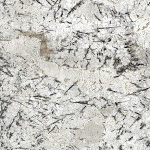 cream granite worktop sensa ice blue detail